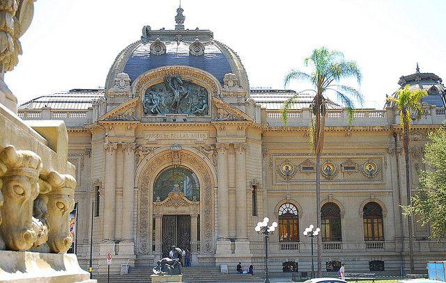 Palacio de Bellas Artes & Museo de Arte Contemporaneo, via Flickr. by Steve Miller ~ Santiago, Chile