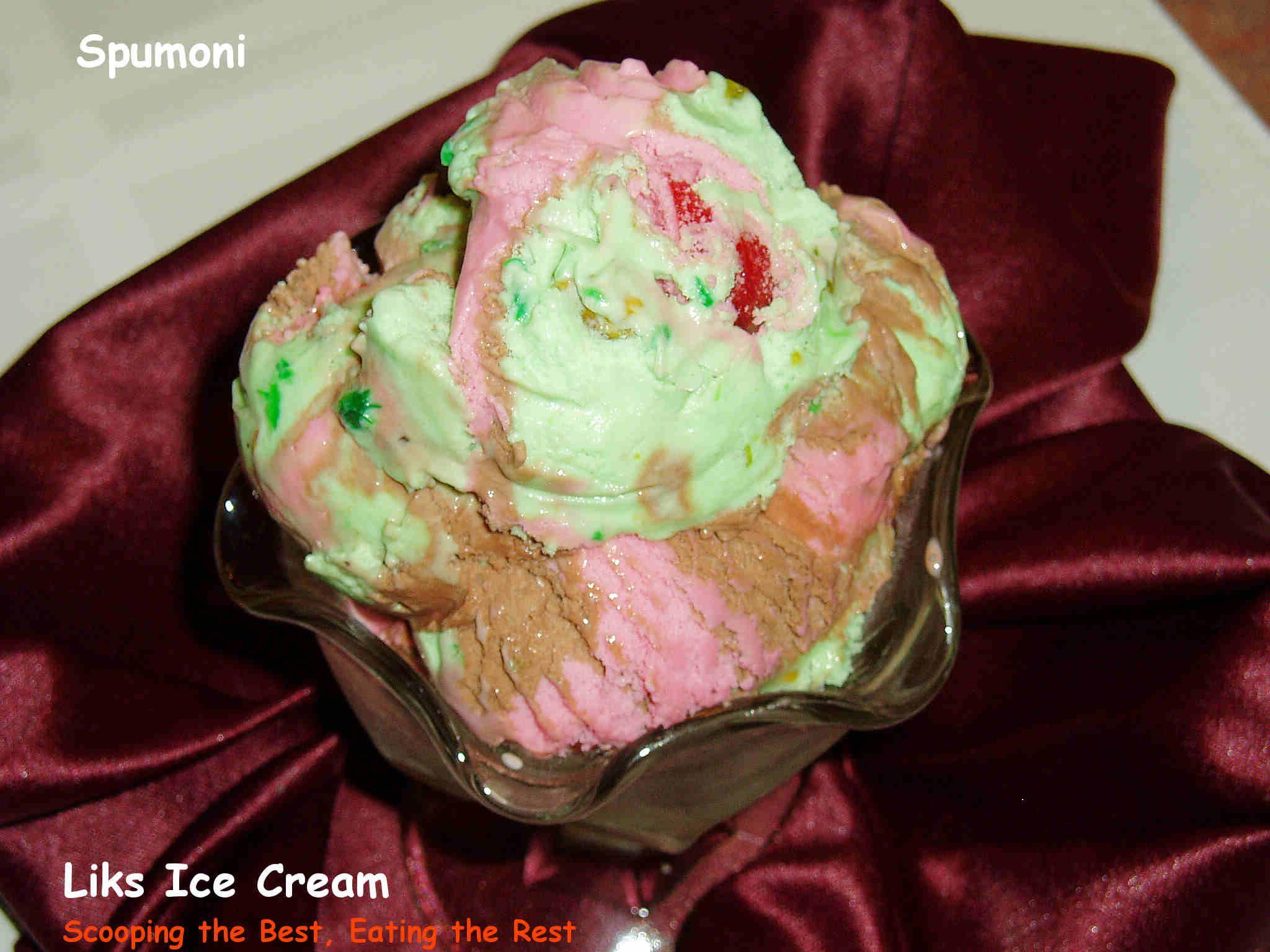 Pin Spumoni Ice Cream Cake Recipe By Western Chefs Ifoodtv