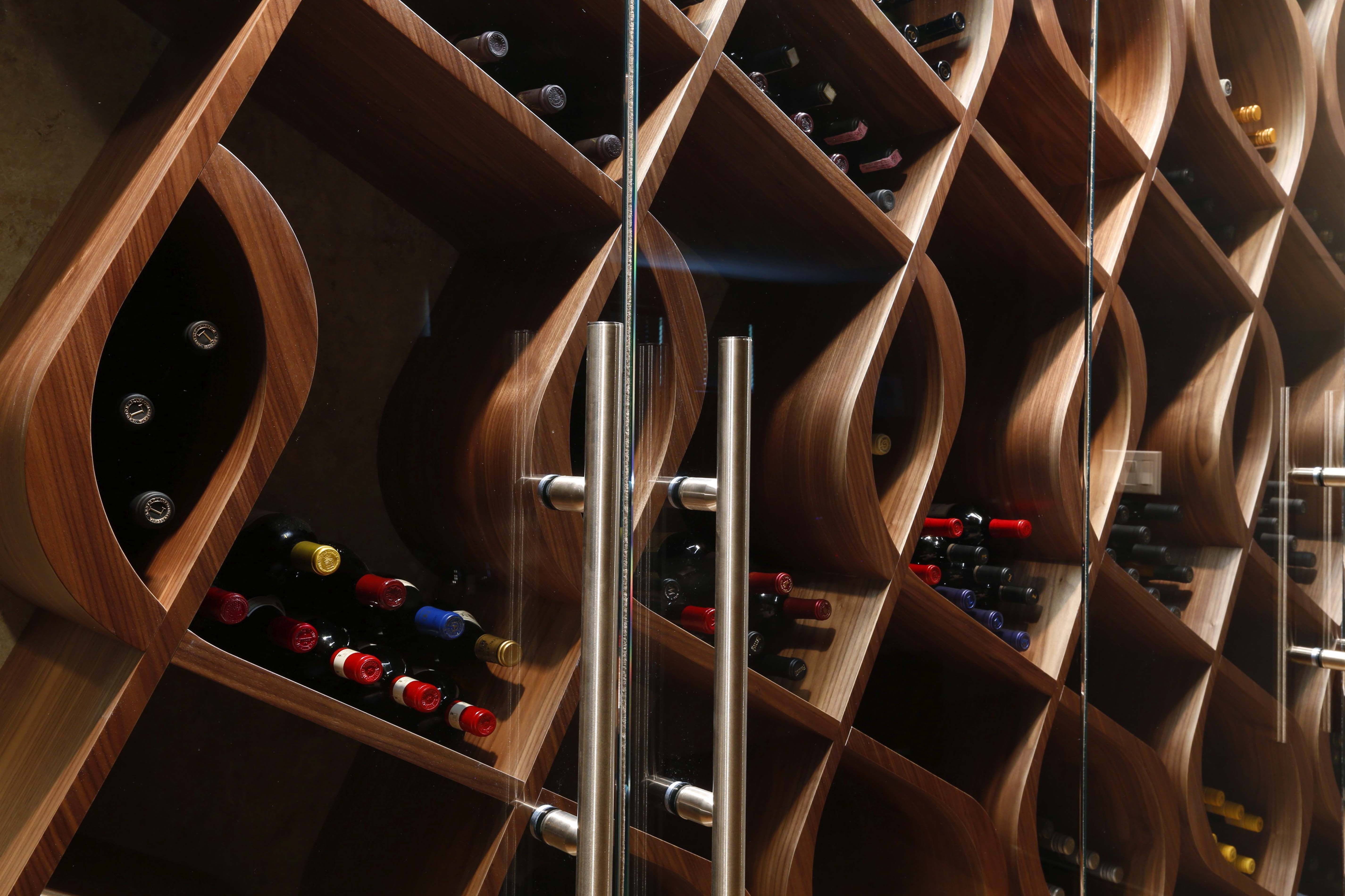 Unique Wine Storage Designed And Built By Genuwine Cellars This