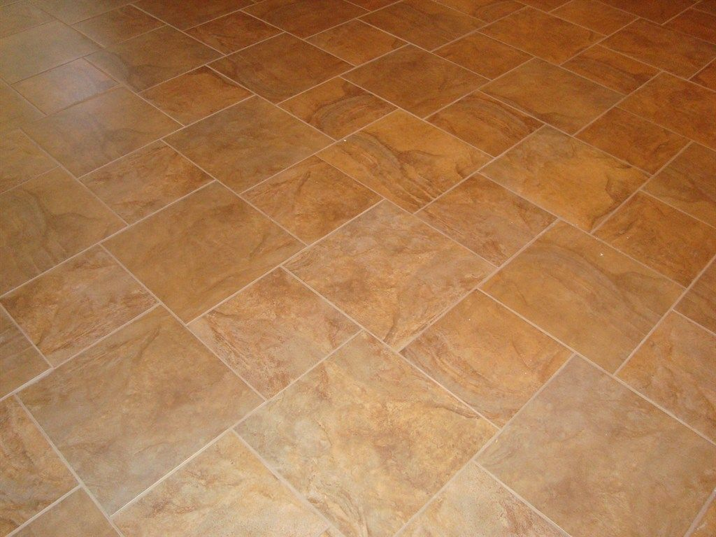 18x18 And 12x12 Tile Pattern Diane S Remodel In 2019