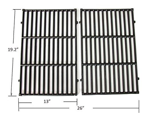 Bbq Funland Gi7524 Gloss Porcelain Coated Cast Iron Cooking Grid For Weber Genesis E And S Series Gas Grills Set Of 2 Cool Kitchens Bbq Tools Barbecue Tools