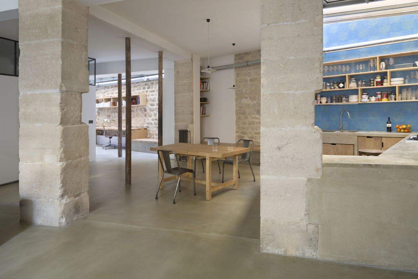 Maxime Jansens architecte, Cécile Septet · Loft in Paris · Divisare