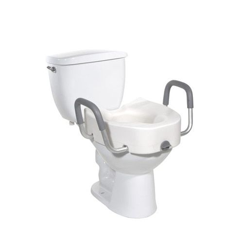 5 Raised Toilet Seat With Arms Drive Medical Micos