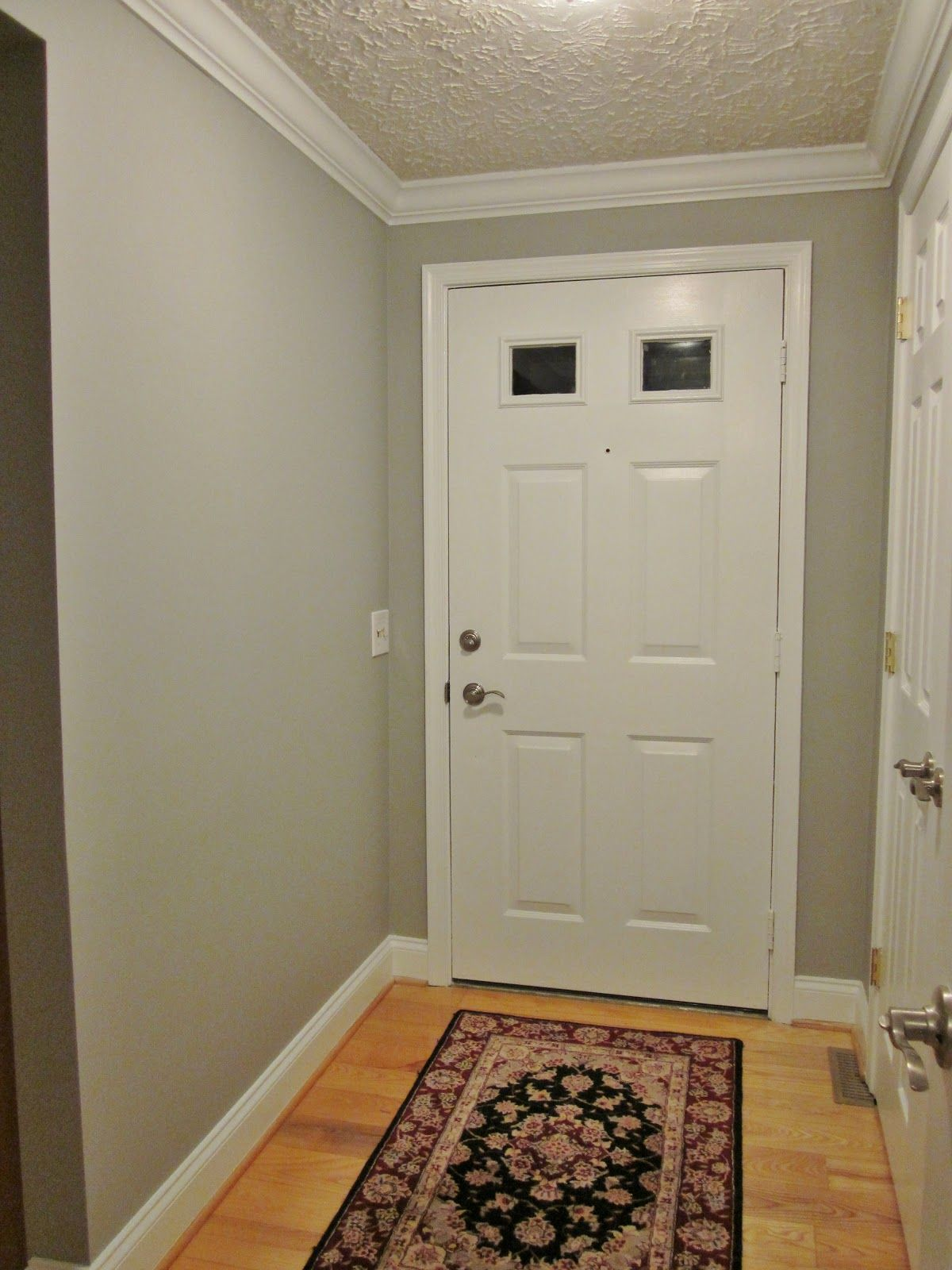 Paint Ideas For Foyer bonnieprojects: foyer update: color and light | paint ideas