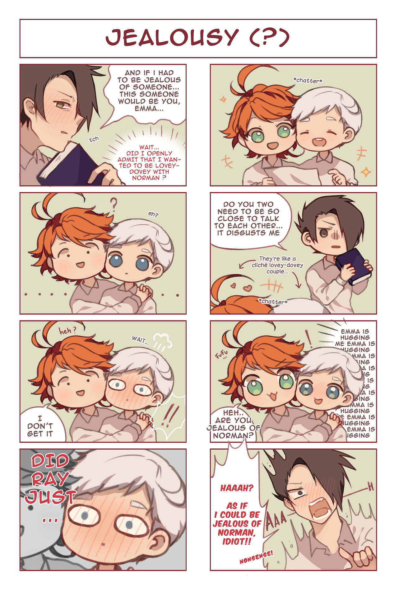 The Promised Neverland | TPN | Neverland, Doujinshi, Anime art