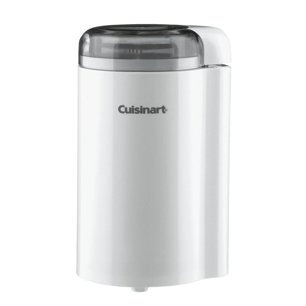 Cuisinart 25 oz white blade coffee grinder with cord