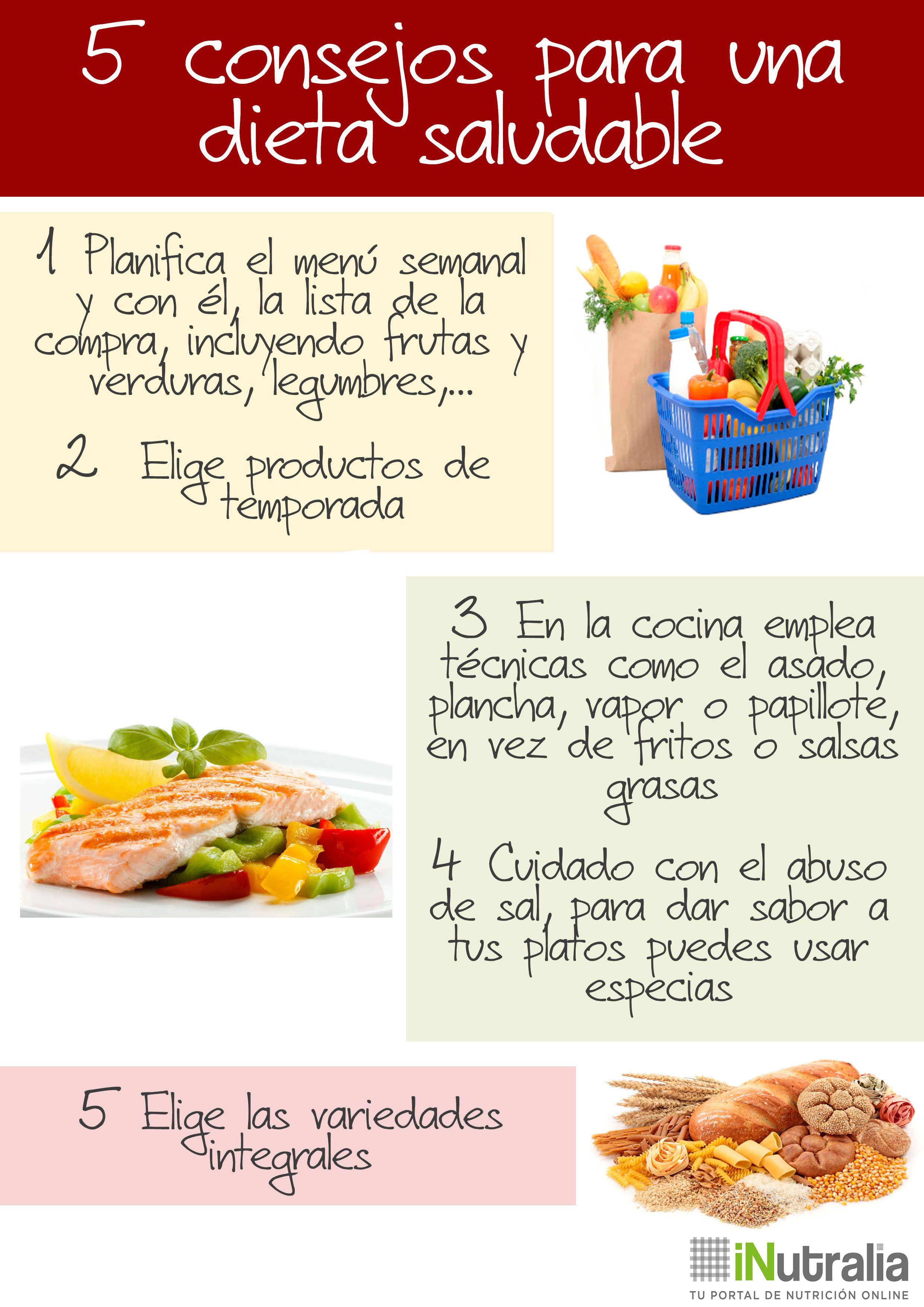 Tips para seguir una dieta saludable de forma f cil y - Comida sana y facil para adelgazar ...