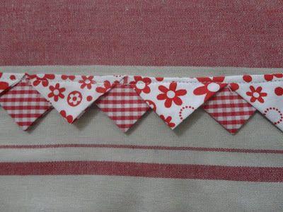 Dandolinhas: Tutorial: bicos de tecido Amei essa ideia e o ...