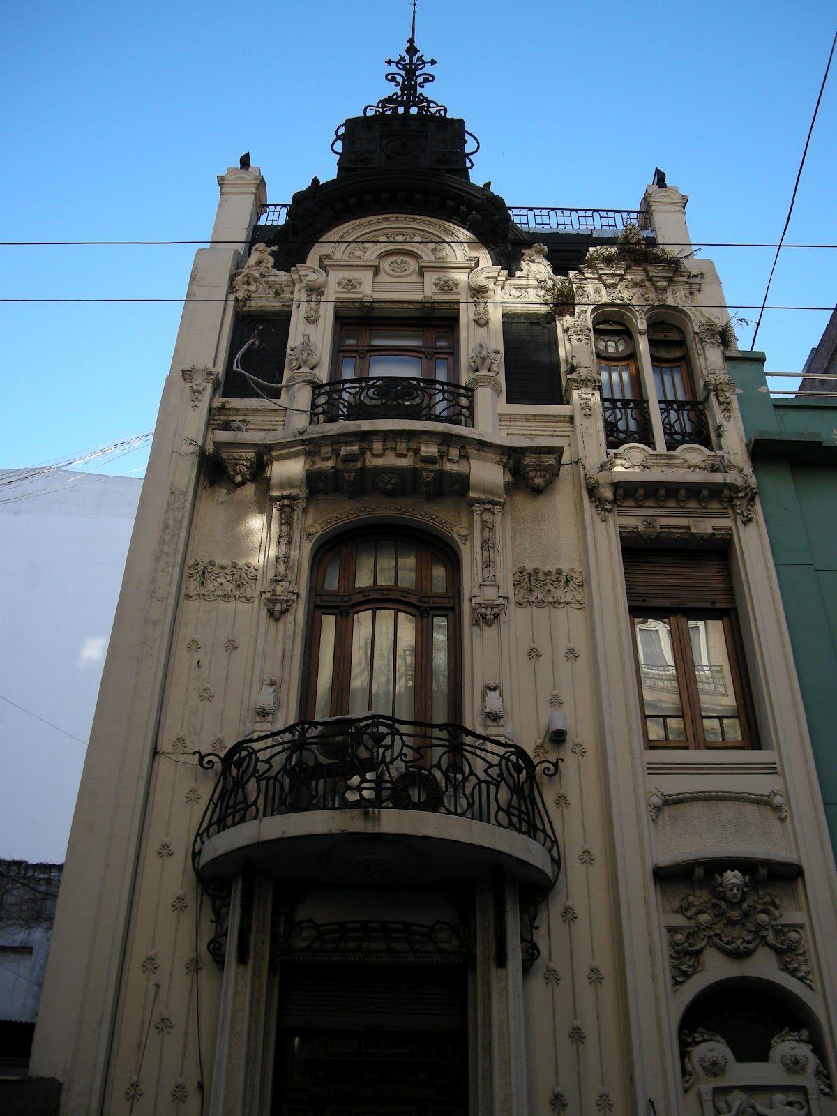 Art nouveau buenos aires en estilo italiano y petit for Art deco hotel buenos aires