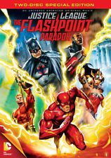 JUSTICE LEAGUE FLASHPOINT PARADOX (DVD, 2013, 2-Disc Set, Special Edition) NEW
