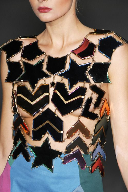 Yves Saint Laurent, Spring 2008  In the good old days of Stefano Pilati at YSL      Those were the days…Stefano Pilati sorely missed at YSL