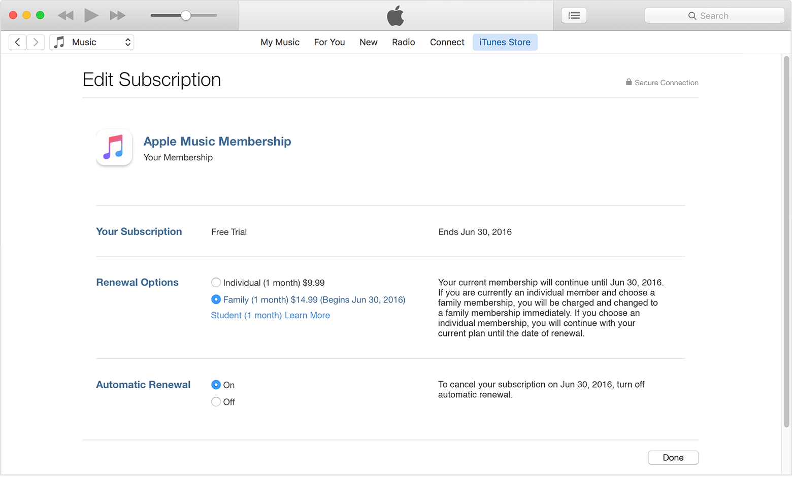 View, change, or cancel your subscriptions Apple Support