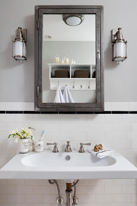 Rooms Viewer Eclectic Bathroom Wall Mounted Medicine Cabinet Traditional Bathroom [ jpg ]