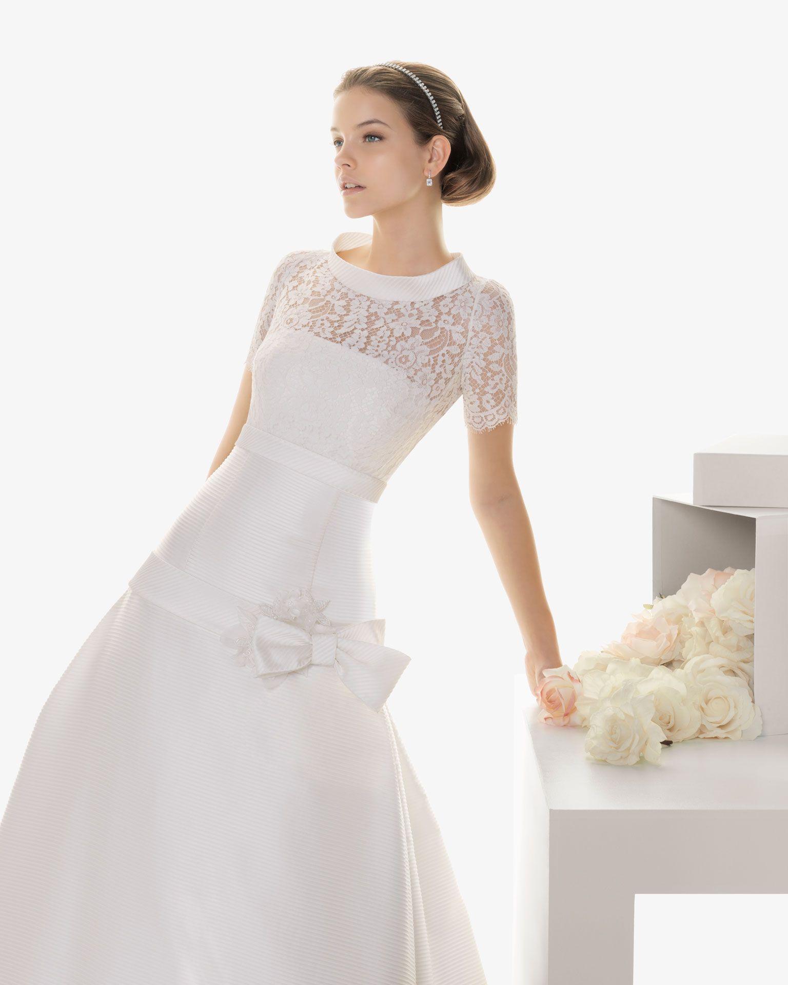 Vestidos de novia rosa clara coleccion 2013