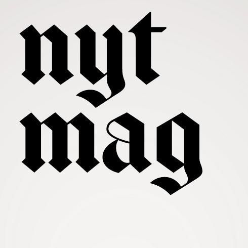 New York Times magazine unveils new logo and typefaces ...