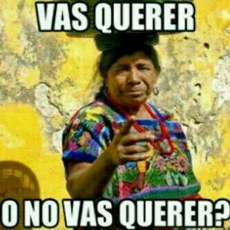 c5dbde630f4ae4ea5d714311d5f5733e vas a querer, frases chapinas funny pinterest mexican memes