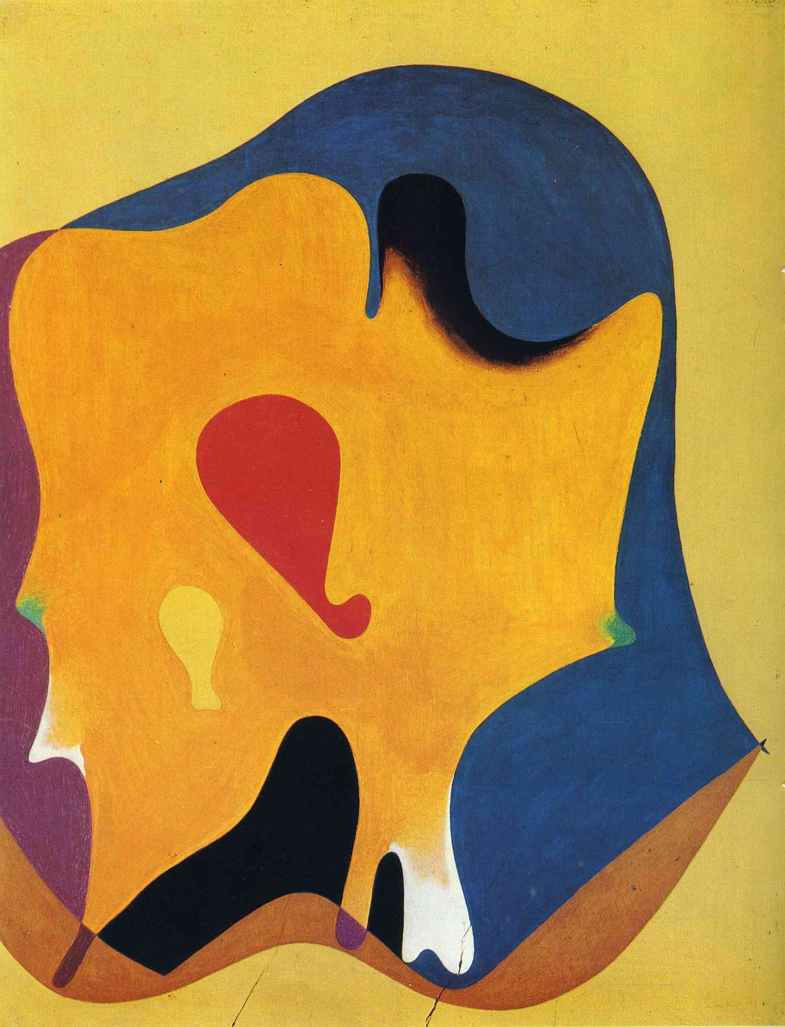 Cap d'home - Joan Miro 1932