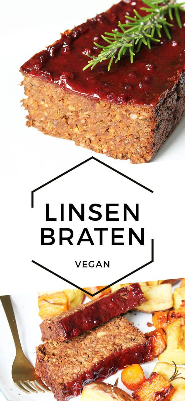 Veganer Linsenbraten | Cheap And Cheerful Cooking