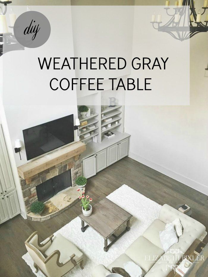 weathered gray coffee table stain - | restoration hardware
