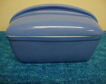 Westinghouse Blue Refrigerator Dish/ Hall China