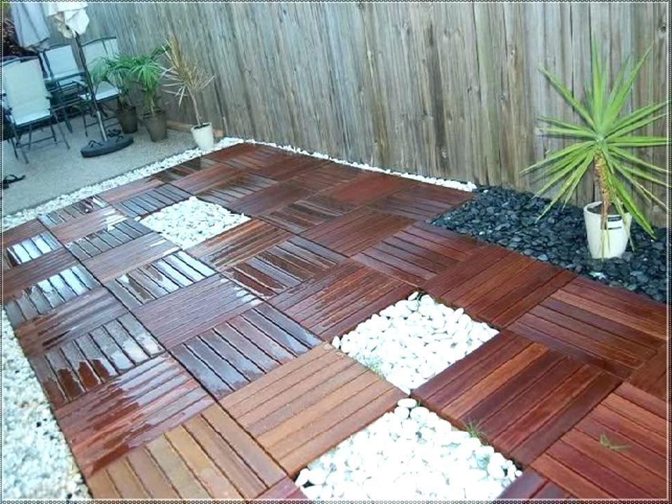 wood deck tiles over concrete patio pool Google Search