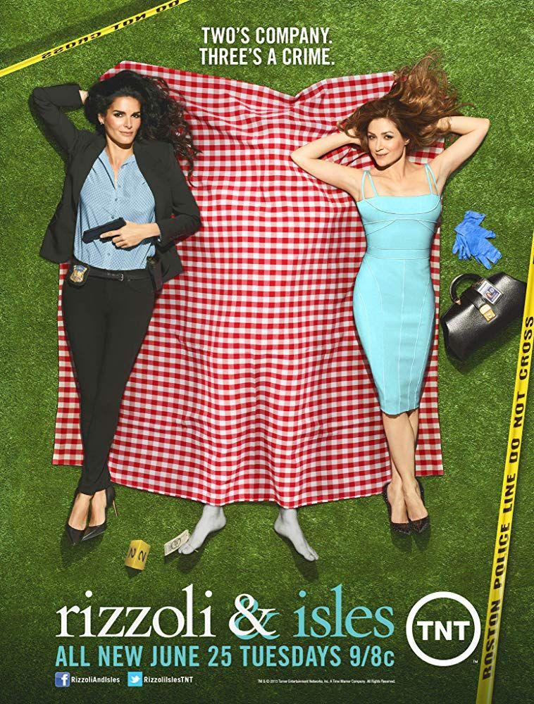Angie Harmon And Sasha Alexander In Rizzoli Isles 2010 Lifetime Tv Rizzoli Sasha Alexander