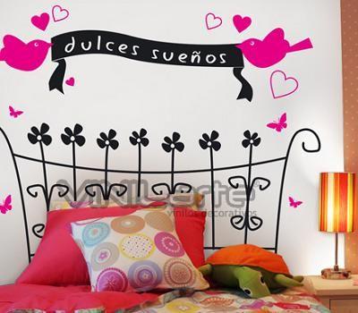 Decorar paredes dormitorio inspiraci n de dise o de for Disenos para decorar paredes de dormitorios