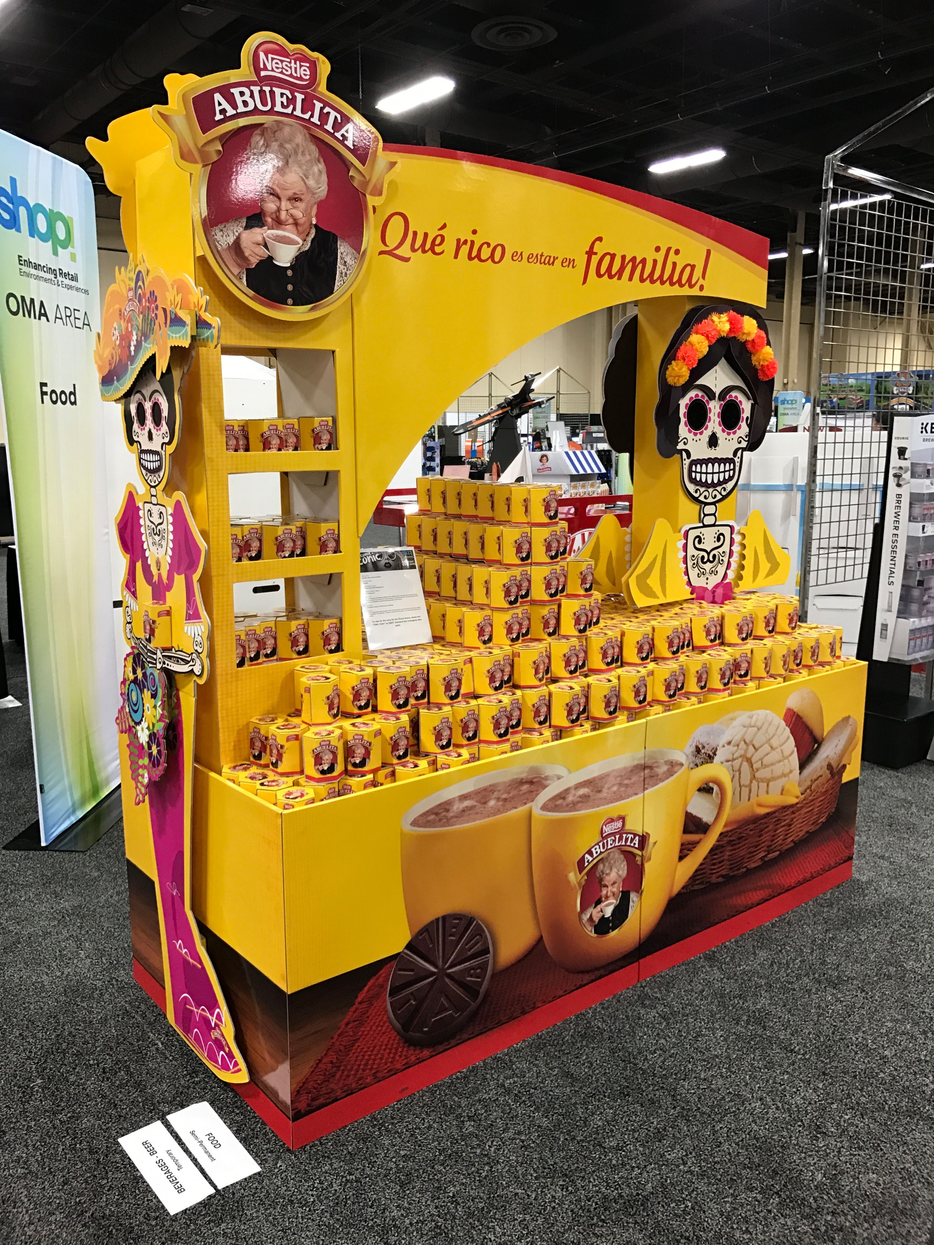 Looking To Purchase This Unit: Nestlé Abuelita Free Standing Unit