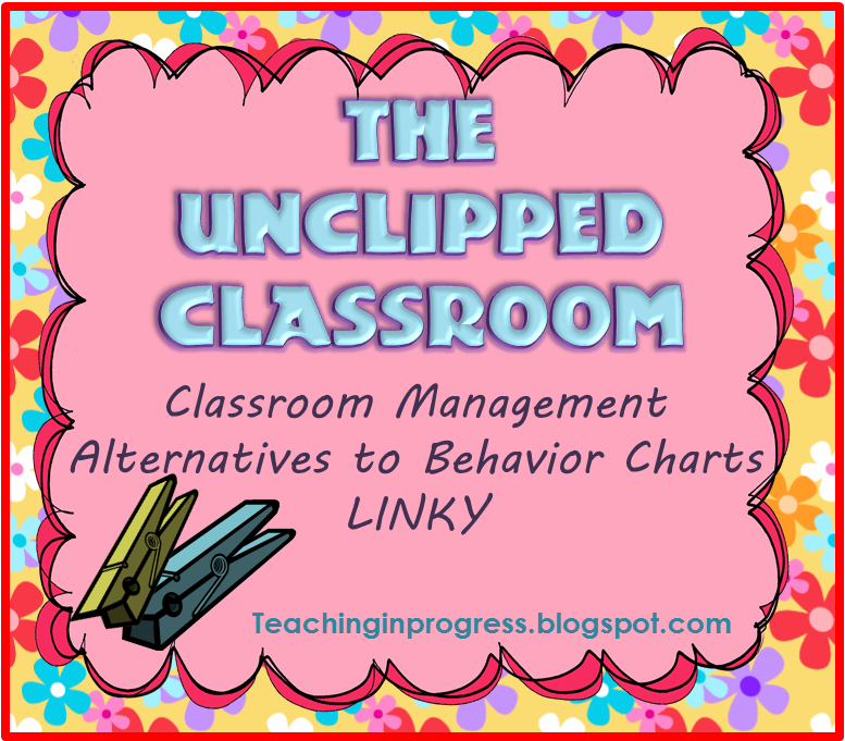 Why I Will Never Use A Behavior Chart Again  Part   The Linky