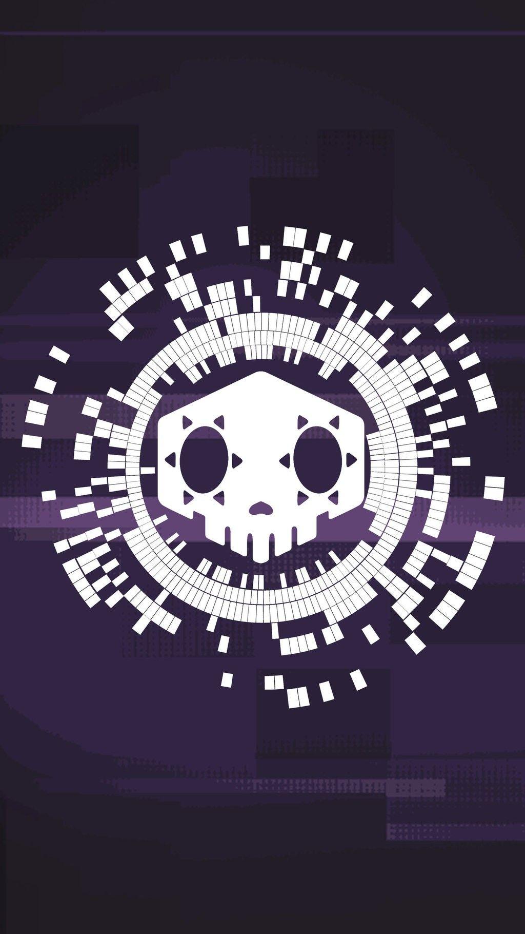 Sombra Logo Overwatch Papel De Parede Para Telefone Ilustracoes Planos De Fundo
