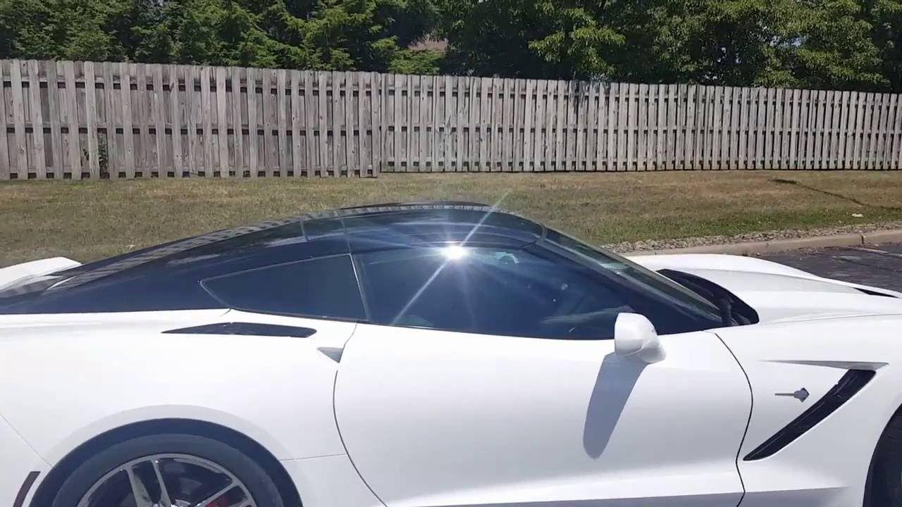 C7 Corvette Wrap And Smoked Taillights Tail Light Corvette Smoke