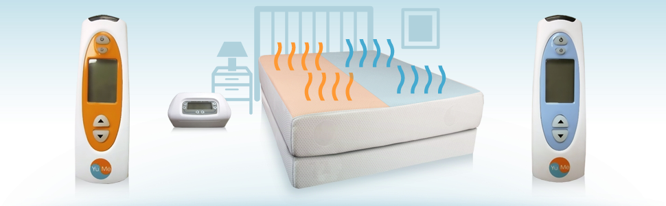 The only climate control bed. Ultimate comfort !!! Down