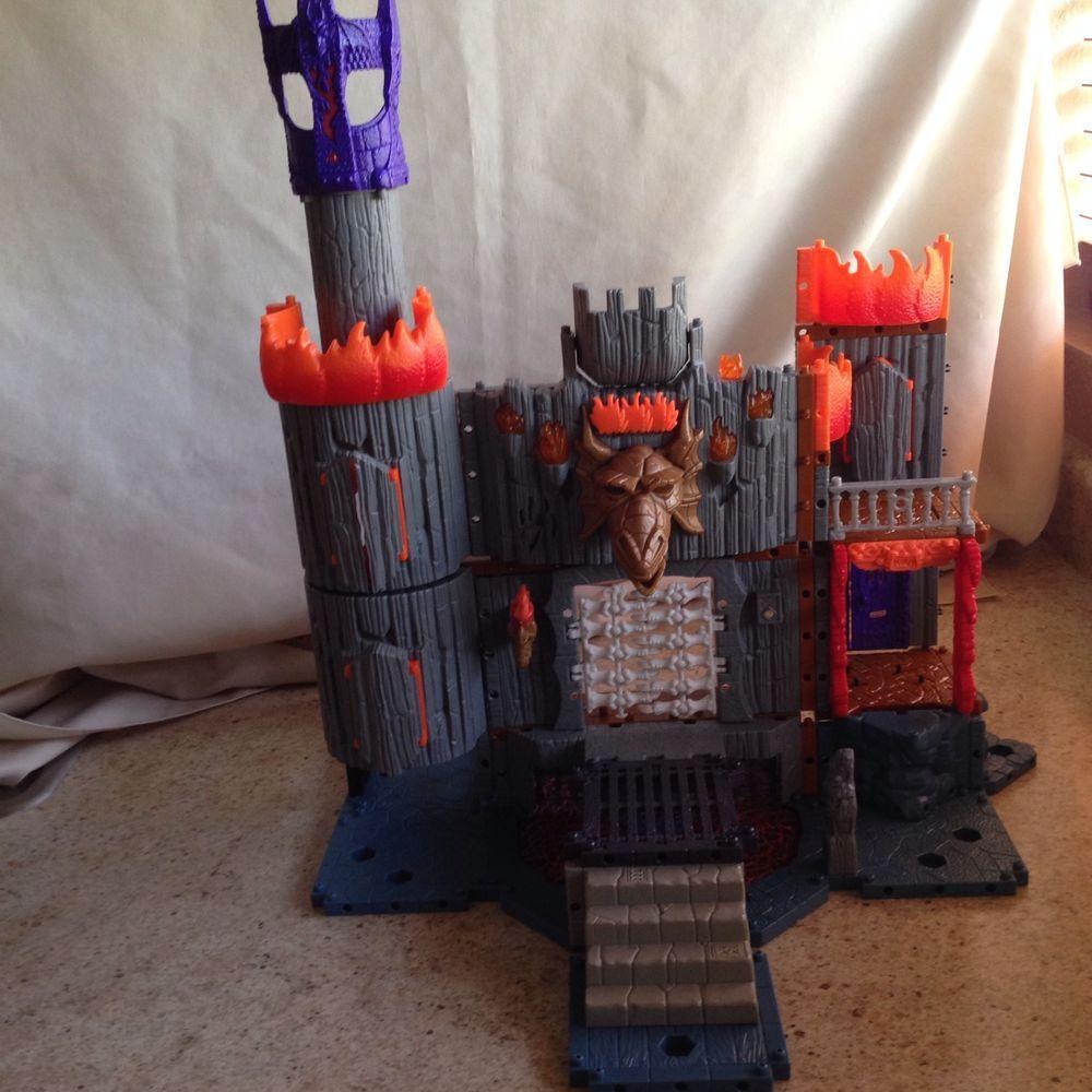 Imaginext Dragomont' Castle Playset Model C5235 Dragon