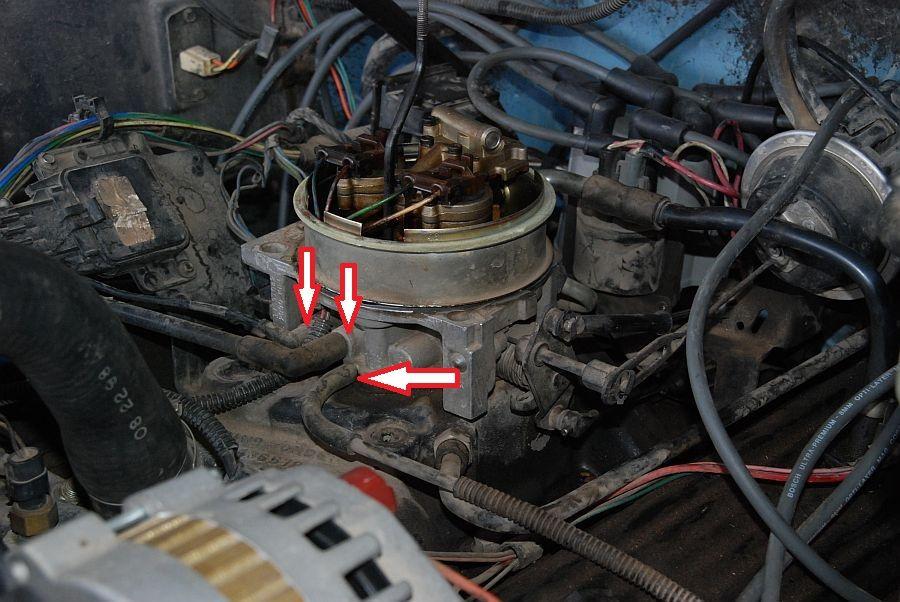 chevy 350 5 7 tbi engine diagram