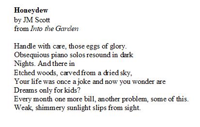 sunlight on the garden poem