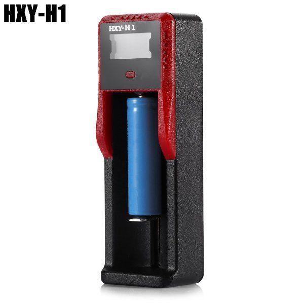 HXY - H1 cargador de batería inteligente del LCD USB