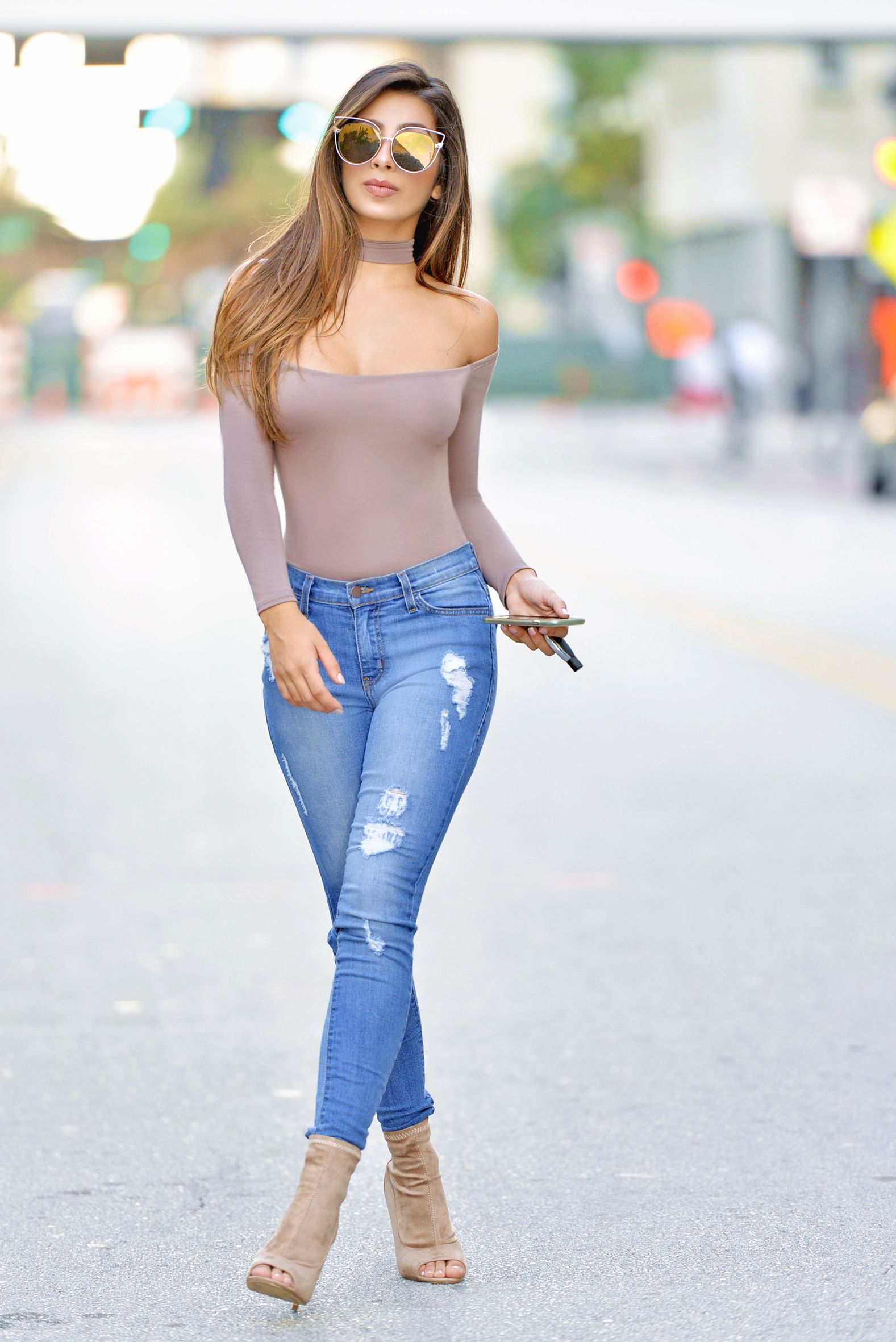 Pinterest  @joceeyg | Everyday Fashion | Pinterest | Sexy jeans Spring street style and Woman