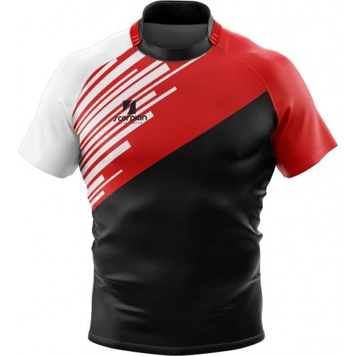 Scorpion Sports Rugby Shirts Are Suitable For Rugby Teams Schools And Colleges Manufactured In The Camisetas De Futebol Camisetas De Time Camisas De Futebol