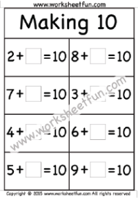 Addition Missing Addend Free Printable Worksheets Worksheetfun Free Printable Worksheets Worksheets Free