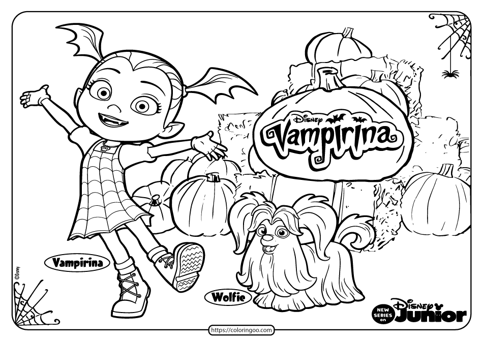 Printable Vampirina Halloween Coloring Pages Halloween Coloring Disney Coloring Pages Halloween Coloring Pages