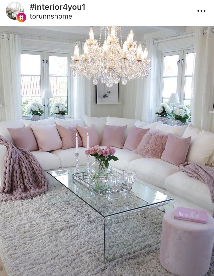Romantic Living Room Decorating Ideas: Pin By Kim Hern On Home Decorating Ideas