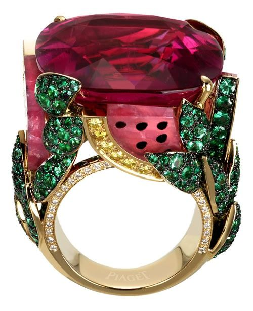 Anillo inspiracion coctel Watermelon Dream