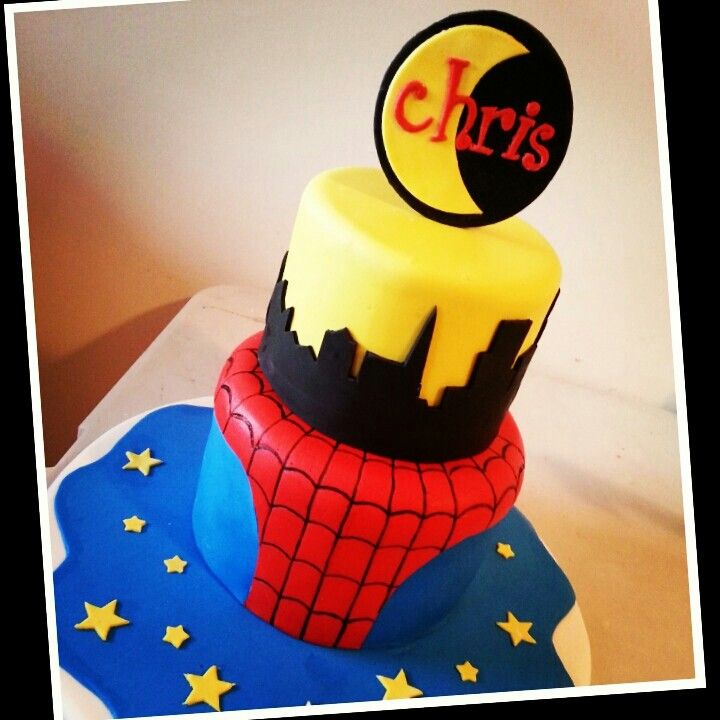 Spiderman Cake Sweetcakes