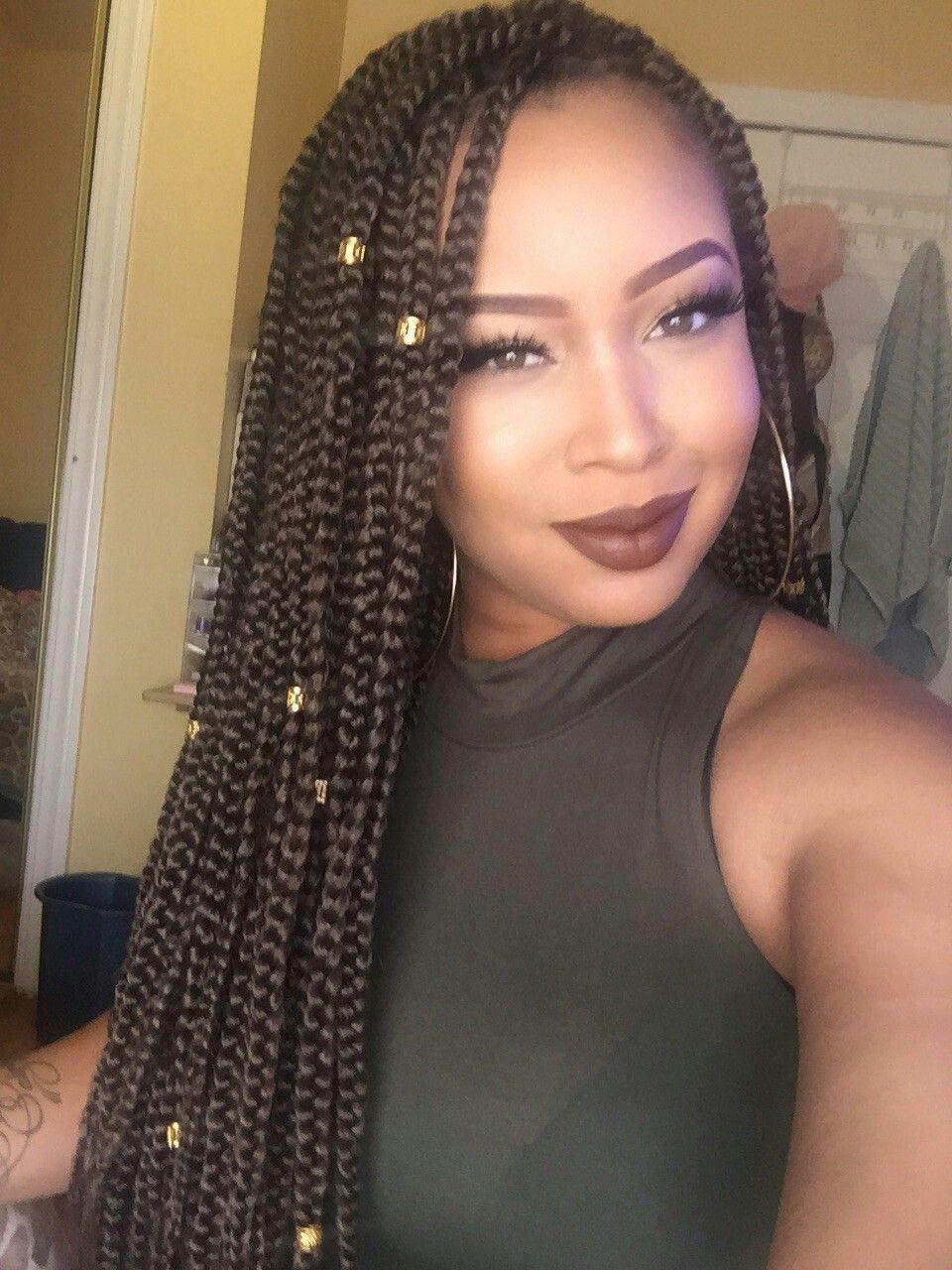 Pin by Zemora Group on HIP LENGTH HAIR DREAMS | Box braids ...
