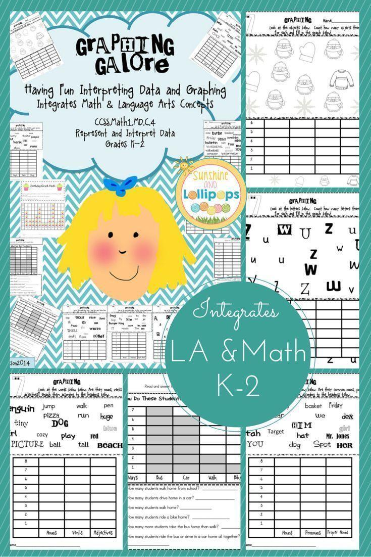 $4.00 #k-2 #math #graphs Graphing Galore Having Fun Interpreting ...