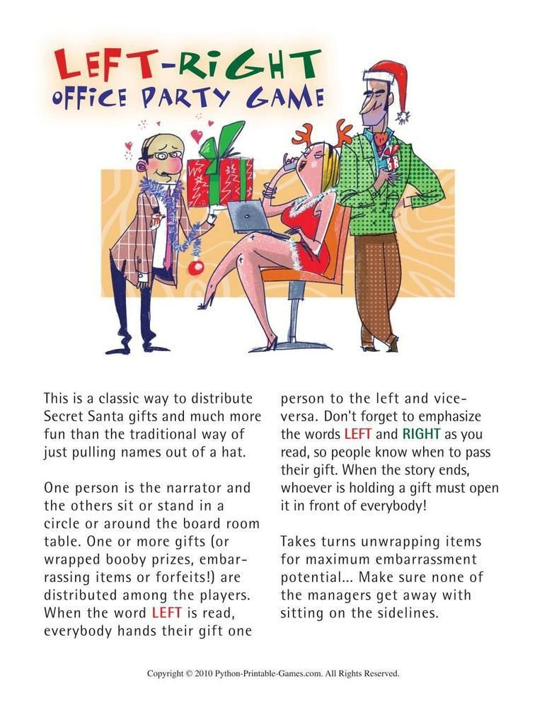 games for the office office christmas left right christmas party 695 - Office Christmas Games