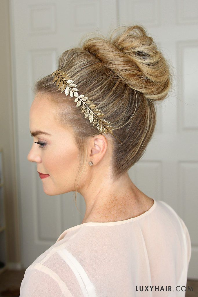 3 Stunning Updos That You Can Do Yourself Pinterest Updo Hair