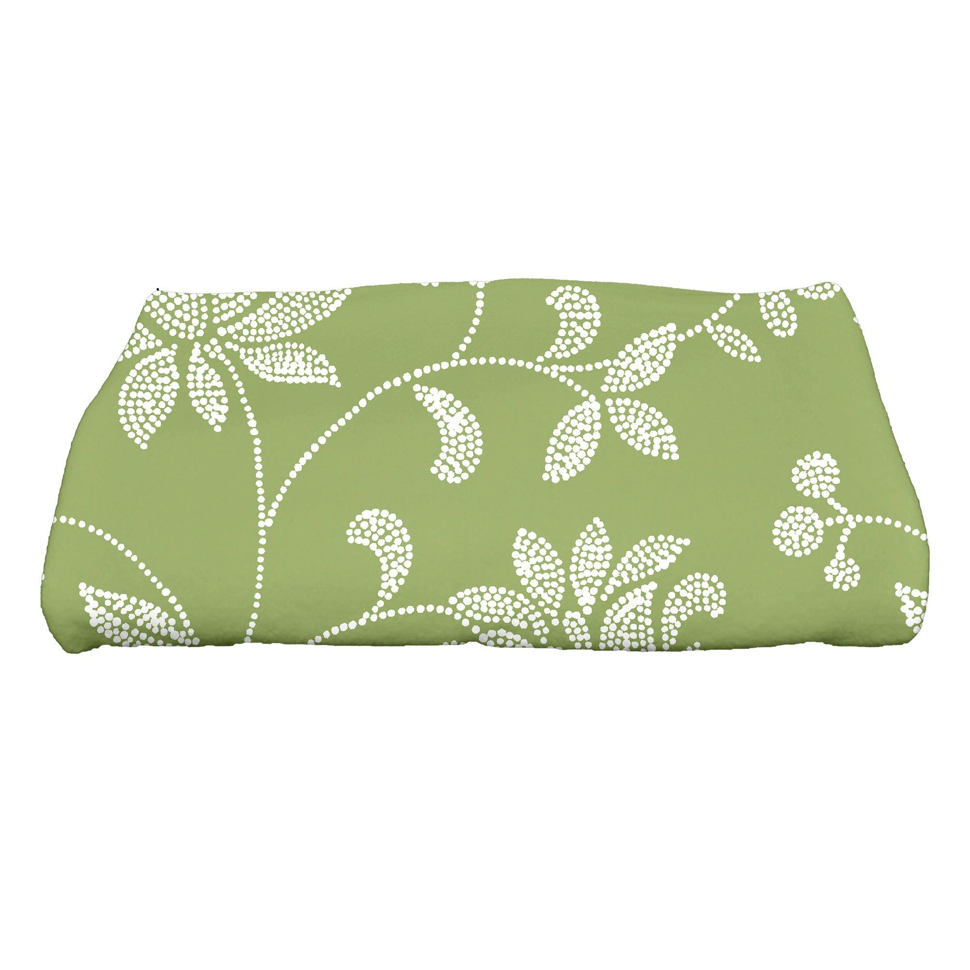 Grovetown Traditional Floral Bath Towel