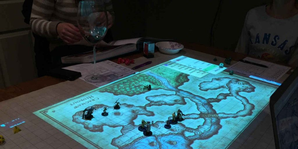 Dungeons And Dragons Can Be Played On Digital Maps And It
