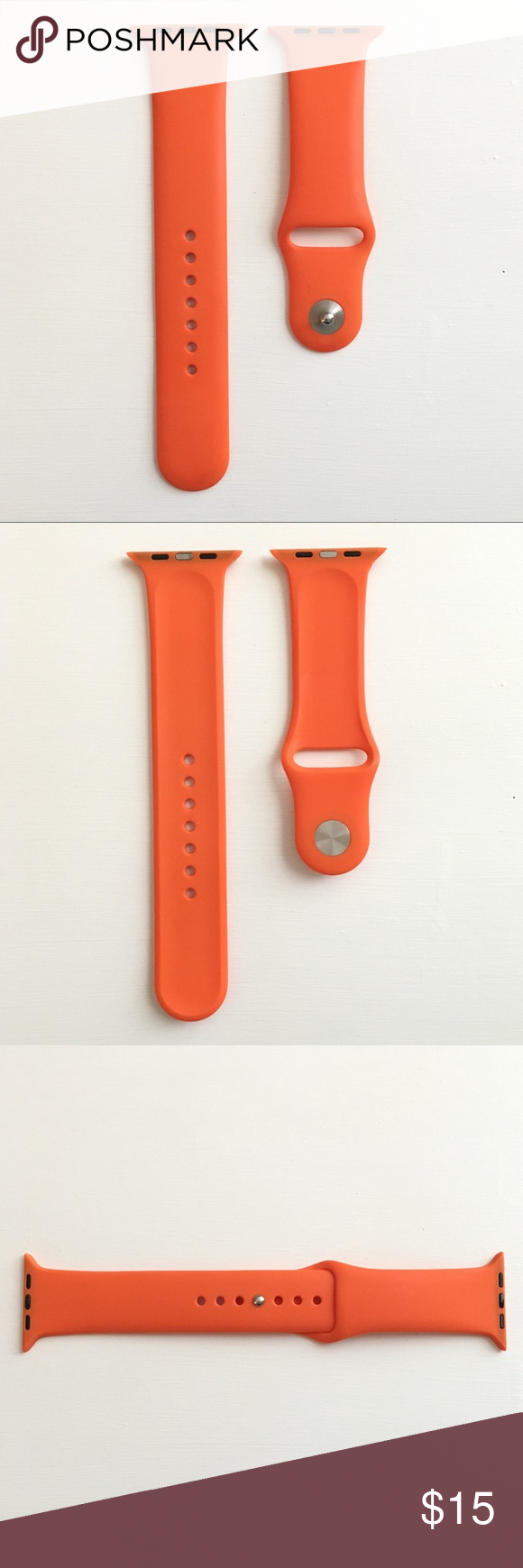 Orange Sport Band for Apple Watch 42mm Apple watch 42mm